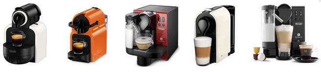 аренда кофемашин nespresso
