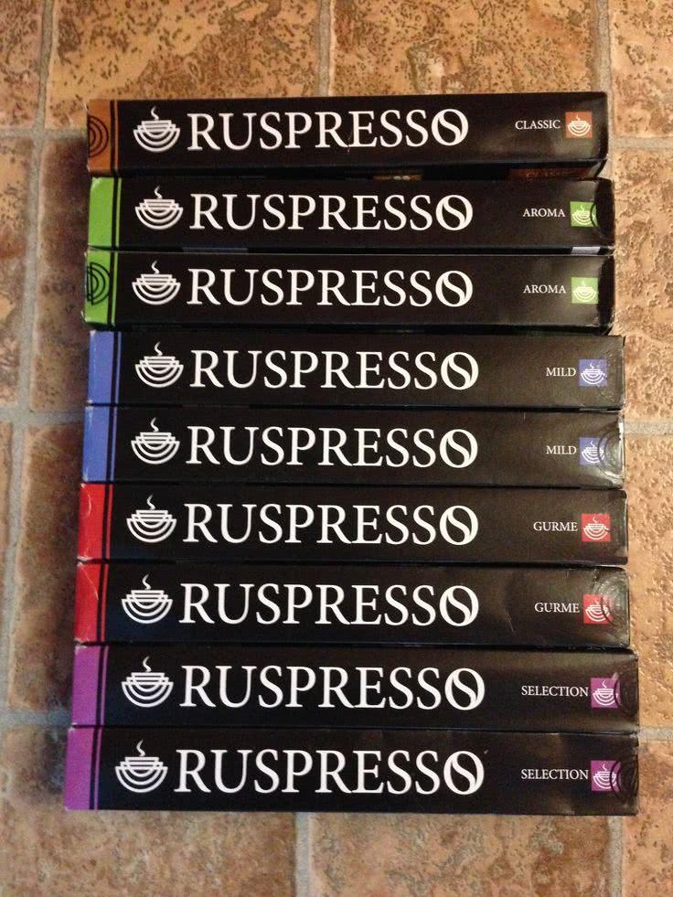фото капсулы Ruspresso
