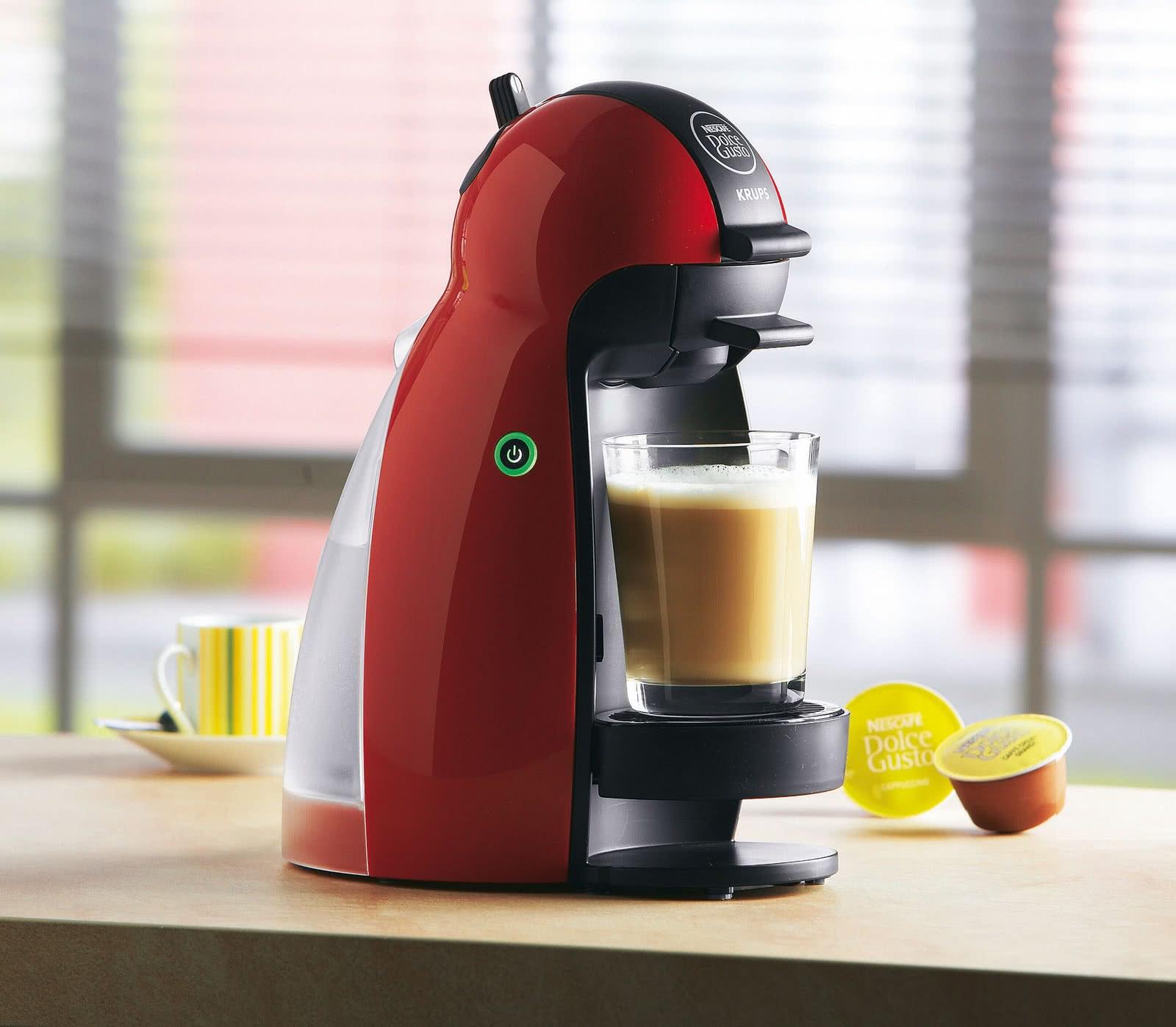 фото капсульной кофемашины дольче густо