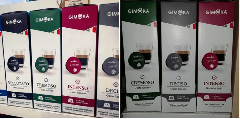 капсулы с кофе Gimoka caffitaly
